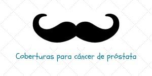 Coberturas para cáncer de próstata